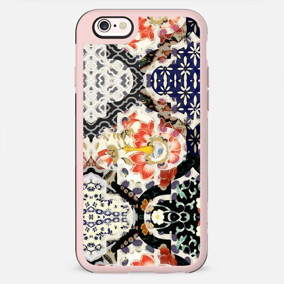 Elegant oriental floral patchwork - New Standard Case