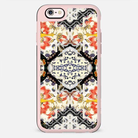 asian floral patchwork design - New Standard Case