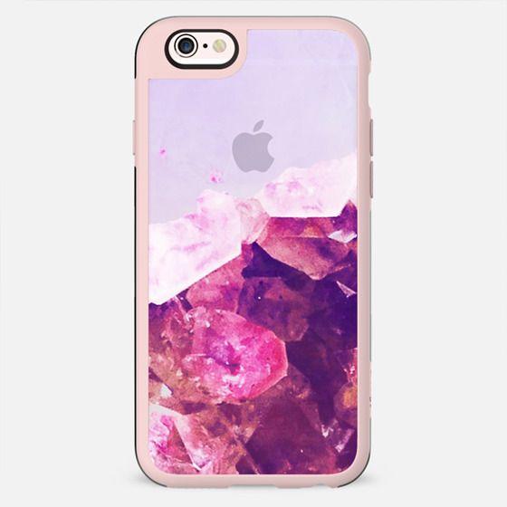 Half pink precious stone - New Standard Case