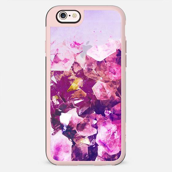 Purple magenta precious stones transparent - New Standard Case