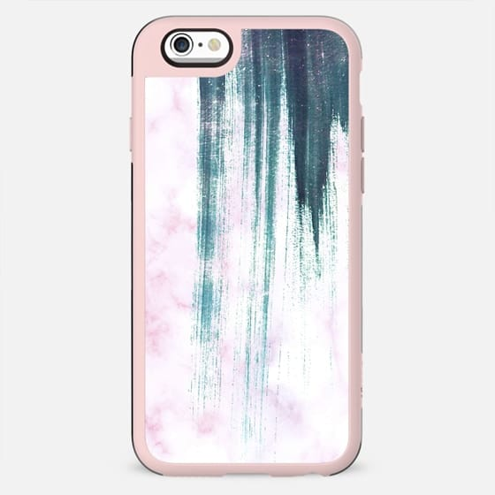 Brushed pink marble - New Standard Case
