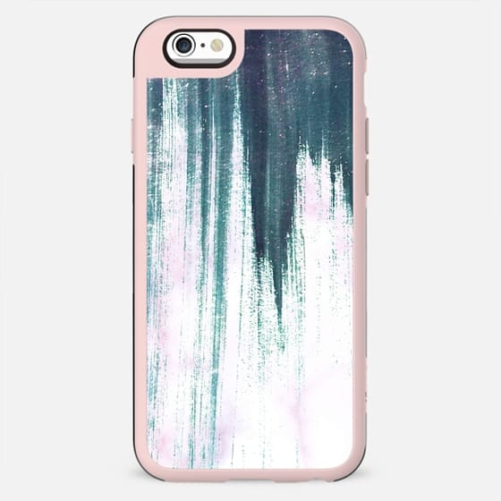 Turquoise pink painted marble - New Standard Case