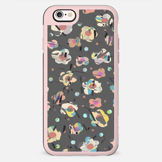 Pastel flowers playful sketch - New Standard Case