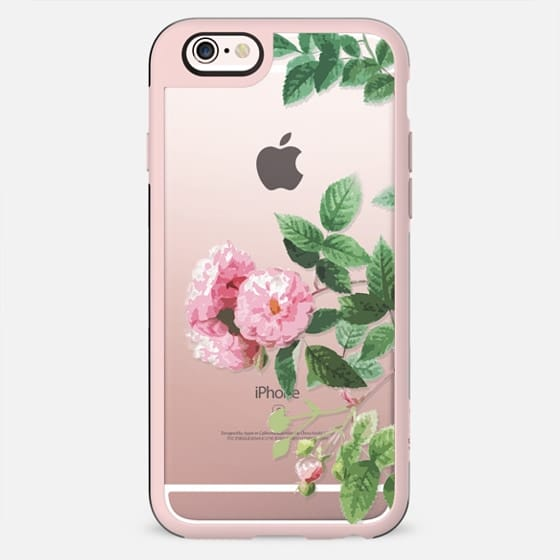 Pink rose botanical illustration - New Standard Case