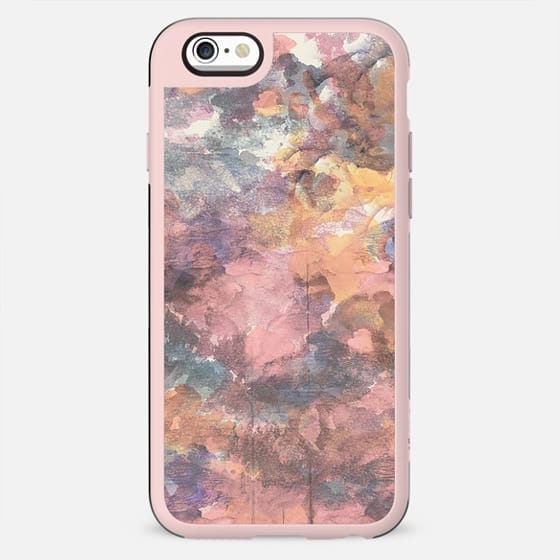 Watercolor abstract pink paint - New Standard Case