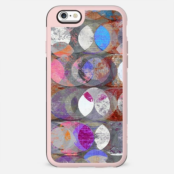 Colorful chalk half moons pattern - New Standard Case