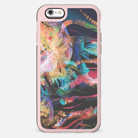 Jellyfish abstract watercolor painting - New Standard Case