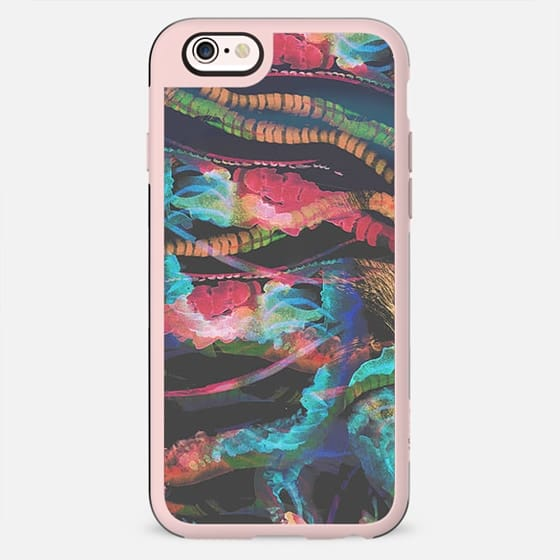 abstract colorful sealife - New Standard Case