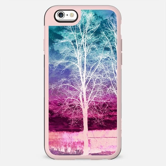 X-ray painted tree landscape