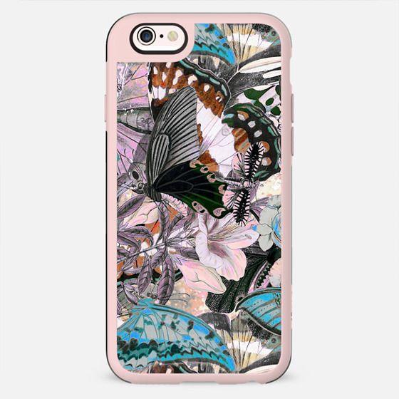 Butterflies botanical illustration - New Standard Case