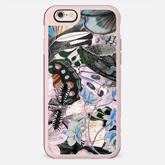 Butterfly wings botanical illustration - New Standard Case