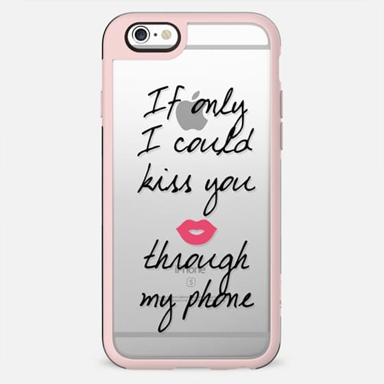 I could kiss you through my phone - Love Valentine's II - New Standard Case
