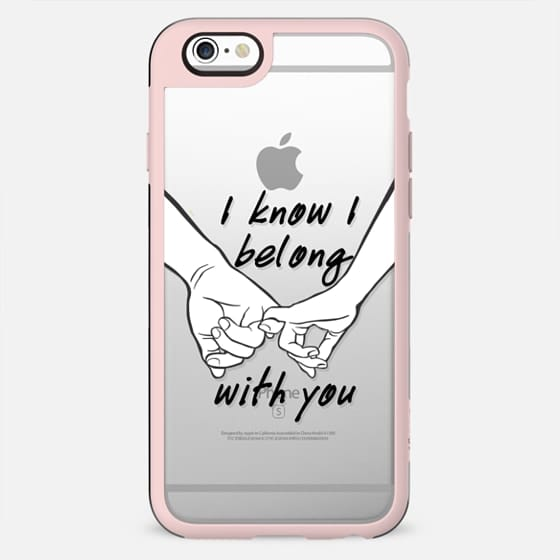 I belong with you - Love Valentine's day I - New Standard Case