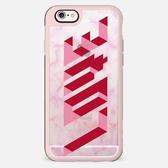 Love 3d Pink marble - Valentine's - New Standard Case