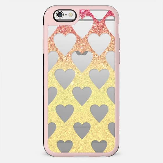 yellow sparkle party hearts