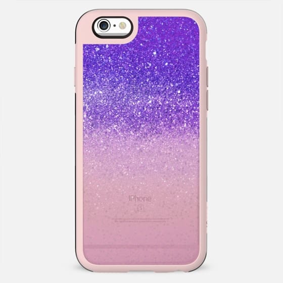 Pink purple sparkle transparent gradient - New Standard Case