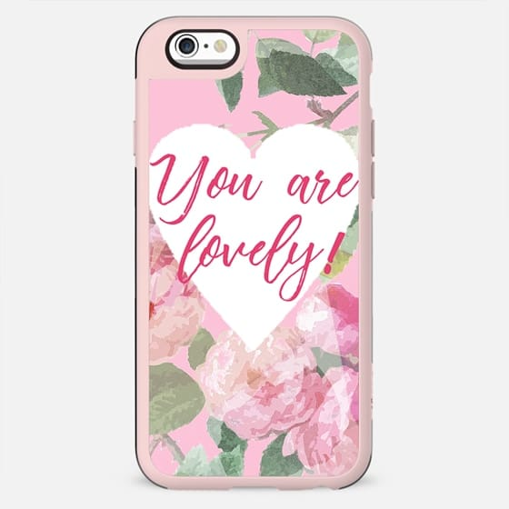You are lovely on pink roses - New Standard Case