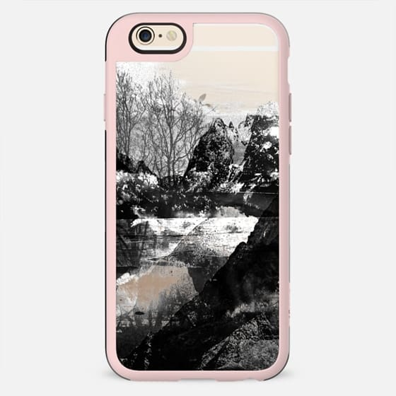 Black and white mountain landscape - New Standard Case