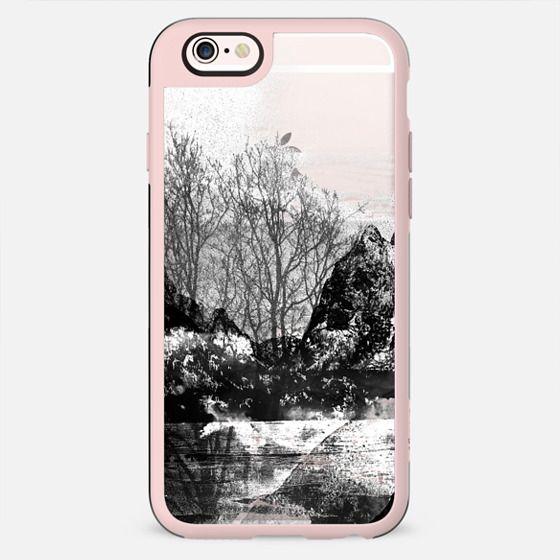 Black and white landscape transparent - New Standard Case