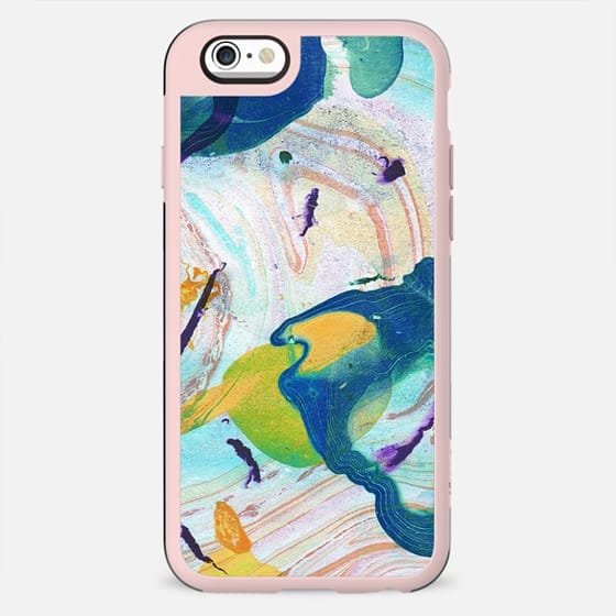 Colorful painted liquid marble - New Standard Case