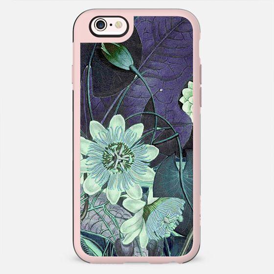 Lotus flower botanical illustration detail