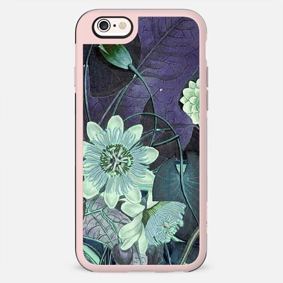 Lotus flower botanical illustration detail - New Standard Case