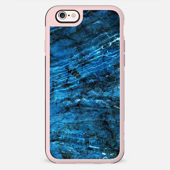 Minimal dark blue marble