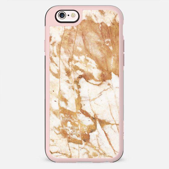 Light golden cracks marble II - New Standard Case