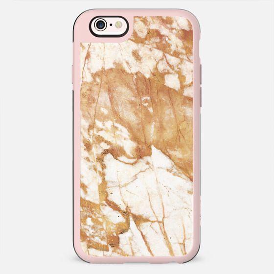 Light golden cracks marble - New Standard Case