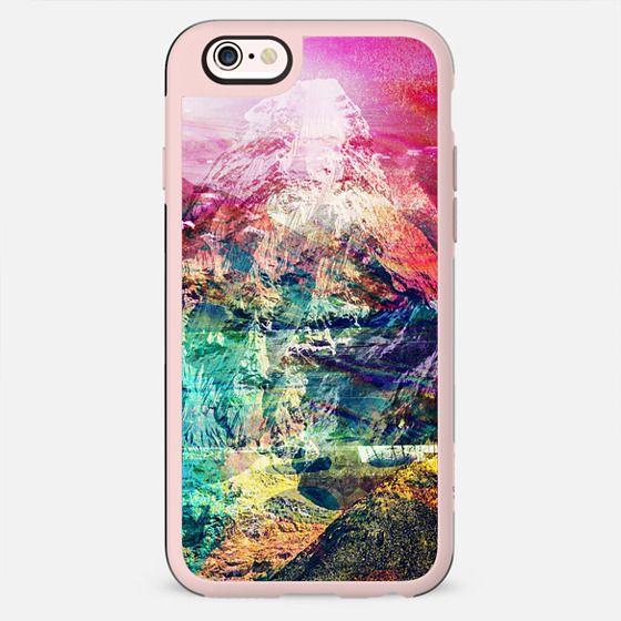 colorful vibrant mountain landscape