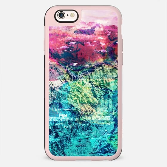 vibrant mountain rock painted - New Standard Case