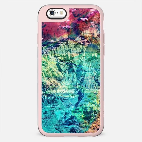 vibrant mountain rock painted texture - New Standard Case