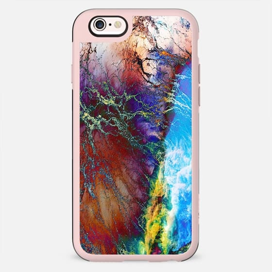 Abstract marble clouds painting - New Standard Case