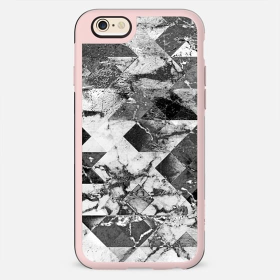 Marble cracked wall black and white - New Standard Case