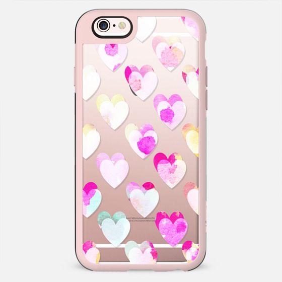 White pastel pink marble cracks - New Standard Case