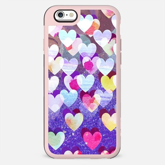 Colorful painted hearts - New Standard Case