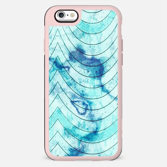 Blue marble geometric waves - New Standard Case