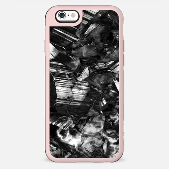 Black and white metallic stones - New Standard Case