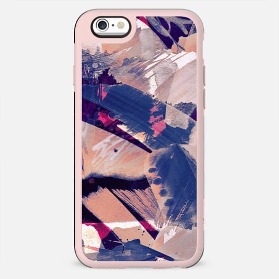 Abstract pink watercolor sketch - New Standard Case