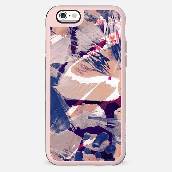 Painted abstract brushstrokes 2 - New Standard Case