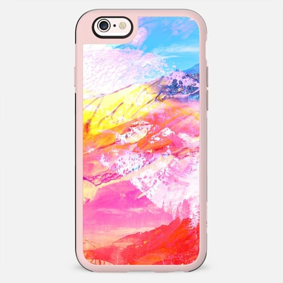 Abstract mountain landscape painting - New Standard Case