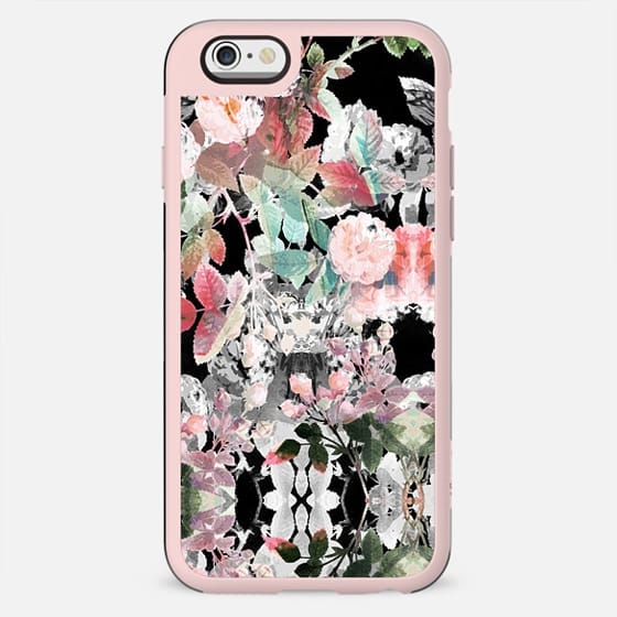 Painted roses pattern on dark - New Standard Case