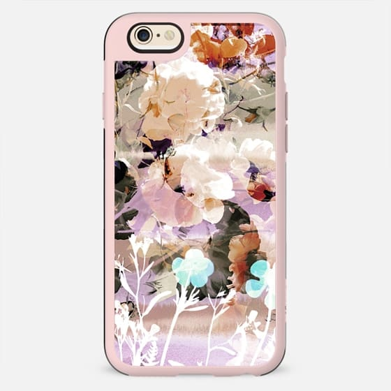 Watercolor pastel flower petals - New Standard Case