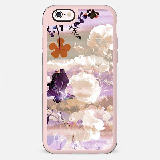 Watercolor pink pastel flower petals - New Standard Case