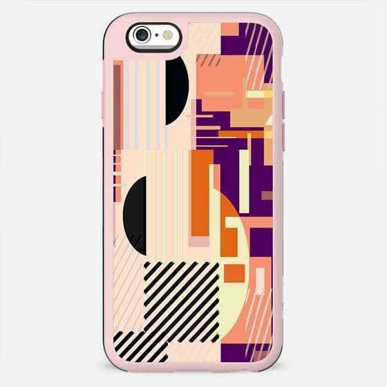 Colorful geometric shapes composition - New Standard Case