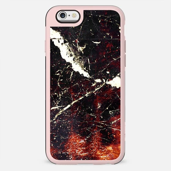 Black copper cracked marble - New Standard Case