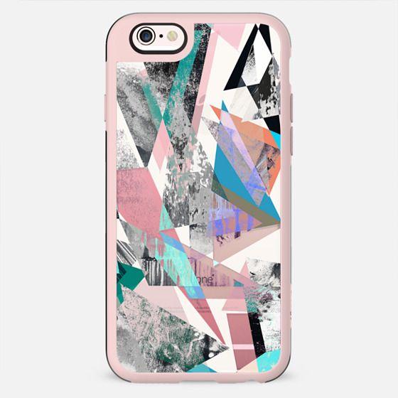 Street art textured grunge triangles marble - New Standard Case