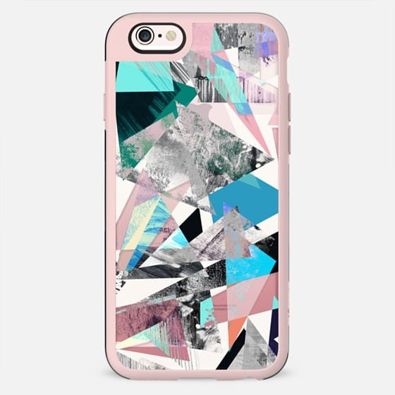 Street art textured triangles marble - New Standard Case