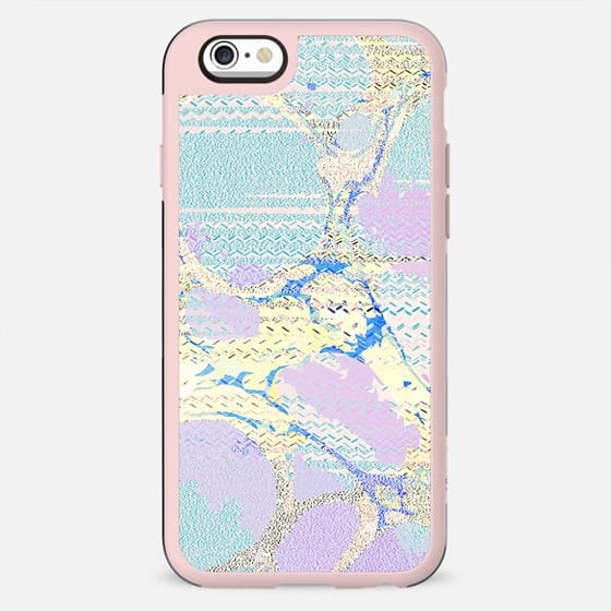 Pastel textured colorful marble - New Standard Case