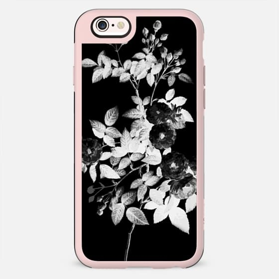 Black and white faded rose - New Standard Case